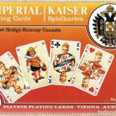 Barajas de cartas: PLAYING CARDS IMPERIAL KAISER (PRECINTADO). Lote 121498043