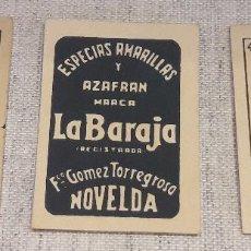 Barajas de cartas: BARAJA LILIPUT / DORSO AZAFRAN LA BARAJA / NAIPES ROURA - BARCELONA. COMPLETA Y PERFECTA.. Lote 121507619