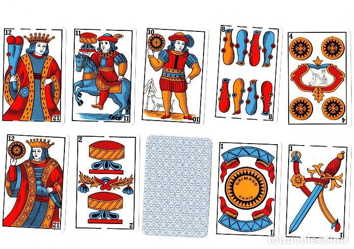 BARAJA 48 NAYPES REFINOS 104. GRIMAUD. COMPLETA. (Juguetes y Juegos - Cartas y Naipes - Otras Barajas)
