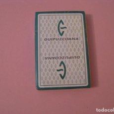 Barajas de cartas: BARAJA DE CARTAS DE HERACLIO FOURNIER PUBLICIDAD GUIPUZCOANA. 40 CARTAS NAIPES. PRECINTADA.. Lote 121651987