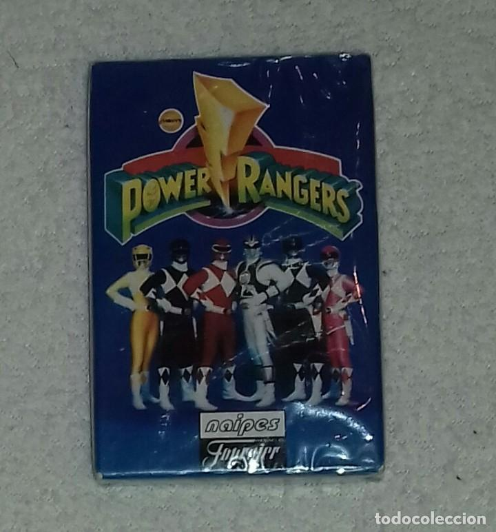 BARAJA DE CARTAS POWER RANGERS - AÑO 1995 (Juguetes y Juegos - Cartas y Naipes - Barajas Infantiles)