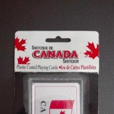 Barajas de cartas: BARAJA DE CARTAS SOUVENIR DE CANADÁ PLAYING CARDS. Lote 121701679