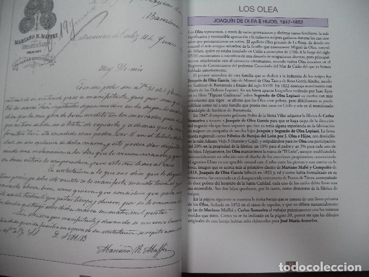 Barajas de cartas: LOS NAIPES DE CADIZ. PRIMERA EDICIÓN. EJEMPLAR Nº49 DE 100. 288 PAGS. NUEVO. 28,8 X 23,8 CM - Foto 4 - 121702527
