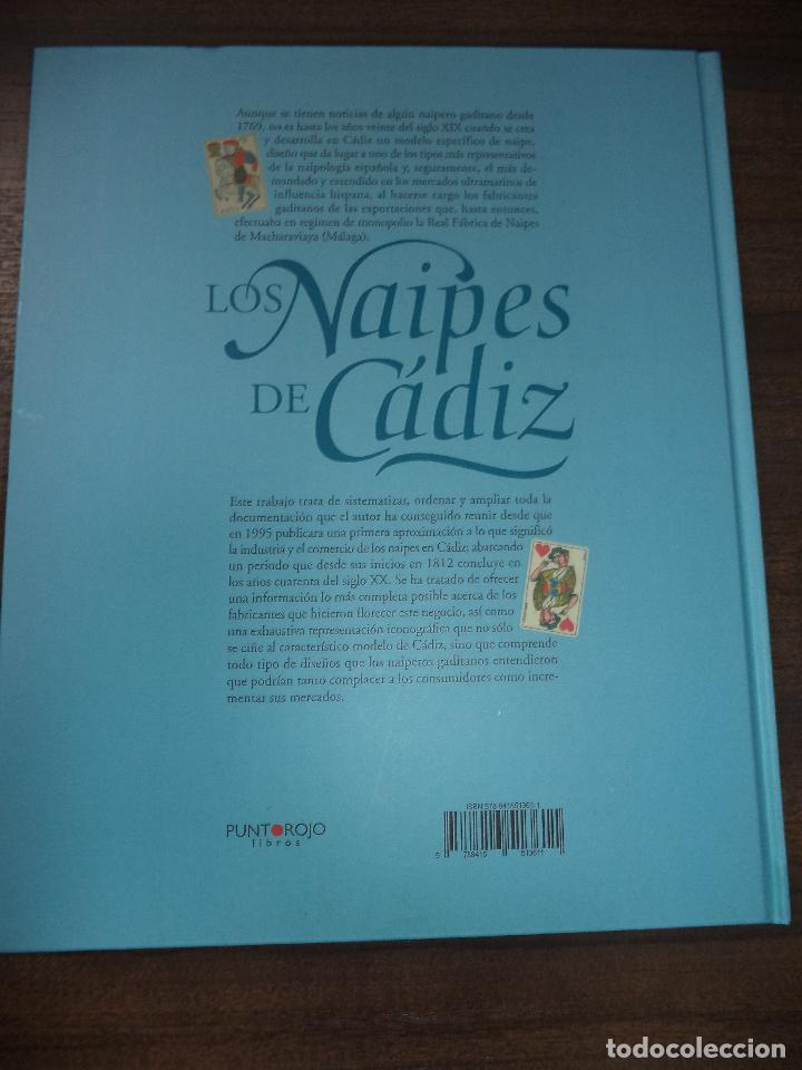 Barajas de cartas: LOS NAIPES DE CADIZ. PRIMERA EDICIÓN. EJEMPLAR Nº46 DE 100. 288 PAGS. NUEVO. 28,8 X 23,8 CM - Foto 7 - 121702611