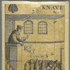 Barajas de cartas: ANTIGUA BARAJA REVOLUCION ISLAS BRITANICAS SIGLO XVII (1689) - PRECINTADA - CERT. COLECCION FOURNIER. Lote 121838271