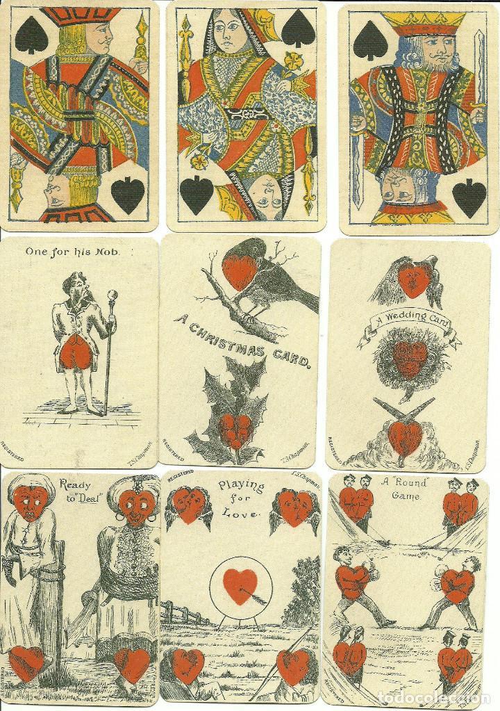 Barajas de cartas: ANTIGUA BARAJA DE TRANSFORMACION - ISLAS BRITANICAS SIGLO XIX - NUEVA - CERTIF, COLECCION FOURNIER - Foto 5 - 121918607