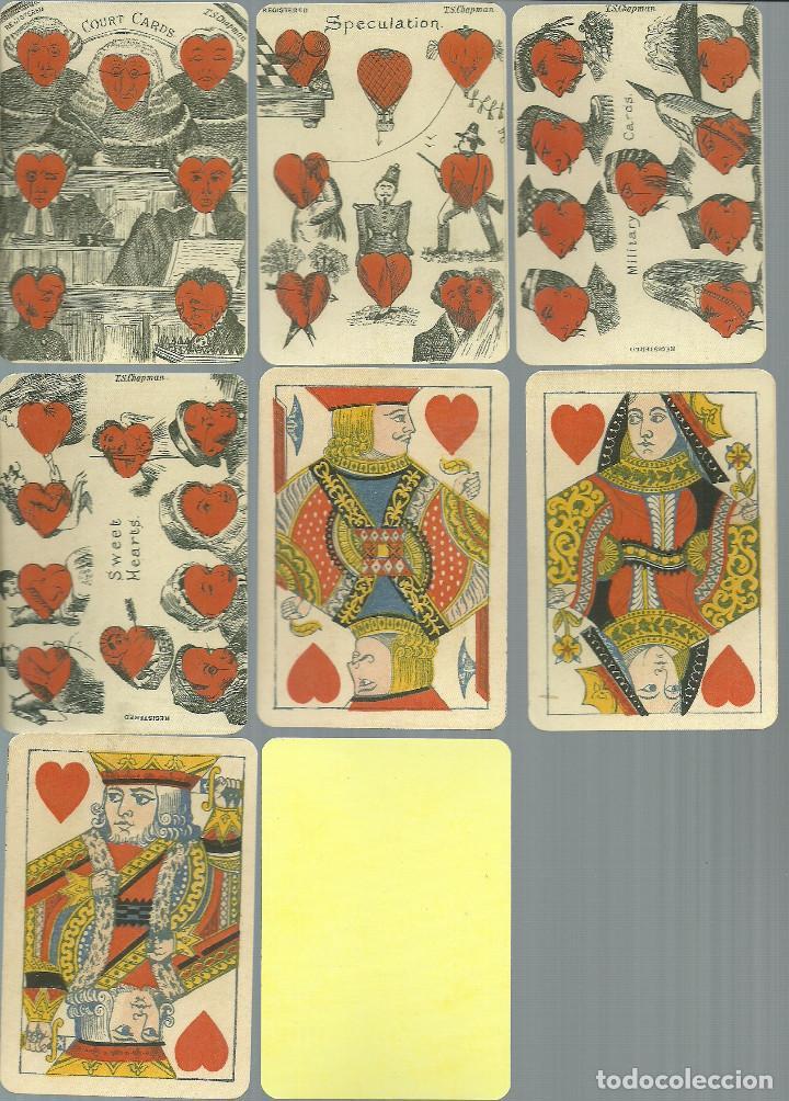 Barajas de cartas: ANTIGUA BARAJA DE TRANSFORMACION - ISLAS BRITANICAS SIGLO XIX - NUEVA - CERTIF, COLECCION FOURNIER - Foto 6 - 121918607