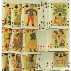 Barajas de cartas: BARAJA FOLKLORICA - HUNGRIA SIGLO XX (1965) - PRECINTADA - CERTIFICADO COLECCION FOURNIER. Lote 121959419
