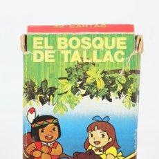 Barajas de cartas: BARAJA DE CARTAS INFANTIL - EL BOSQUE DE TALLAC - EDITOR FOURNIER - 32 CARTAS - COMPLETA. Lote 121997050