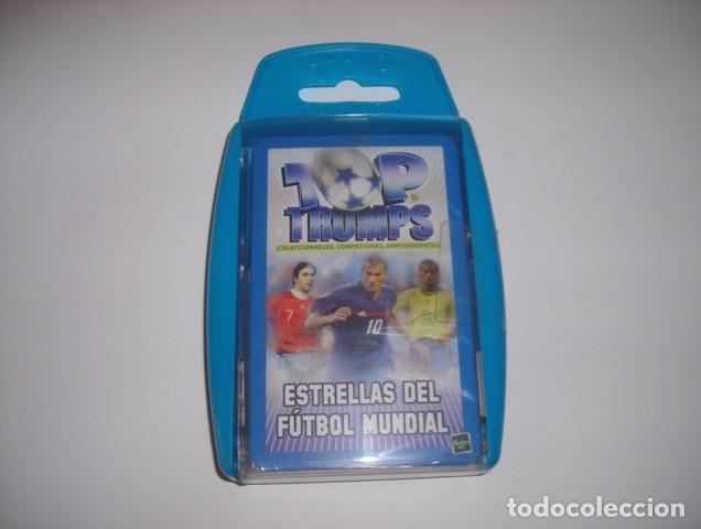 ESTRELLAS DEL FUTBOL MUNDIAL BARAJA DE CARTAS TOP TRUMPS HASBRO (Juguetes y Juegos - Cartas y Naipes - Barajas Infantiles)