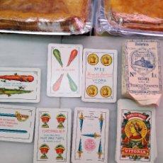 Barajas de cartas: BARAJA HERACLIO FOURNIER 1929-30. Lote 122167967
