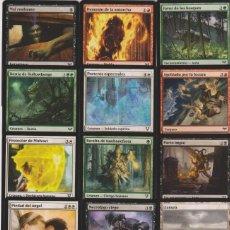 Barajas de cartas: 15 CARTAS MAGIC THE GATHERING MTG ESPAÑOL SPANISH CARD NAIPE LOTE 4. Lote 122228419
