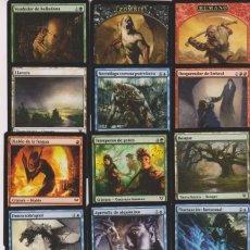Barajas de cartas: 15 CARTAS MAGIC THE GATHERING MTG ESPAÑOL SPANISH CARD NAIPE LOTE 5. Lote 122228439