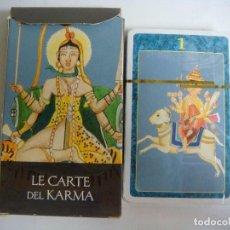 Barajas de cartas: JUEGO DE CARTAS DE TAROT--LAS CARTAS DE KARMA (#). Lote 122292883