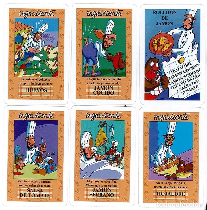 Barajas de cartas: BARAJA, EL JUEGO DEL RICO RICO, DE KARLOS ARGUIÑANO, MENU REFRESCANTE FOURNIER, NUEVA, PRECINTADA - Foto 3 - 172729485
