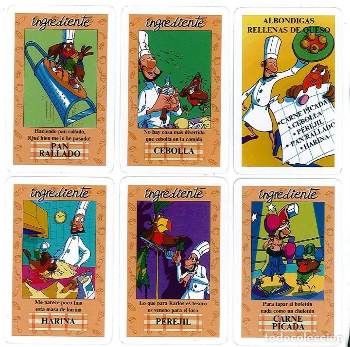 Barajas de cartas: BARAJA, EL JUEGO DEL RICO RICO, DE KARLOS ARGUIÑANO, MENU REFRESCANTE FOURNIER, NUEVA, PRECINTADA - Foto 5 - 172729485