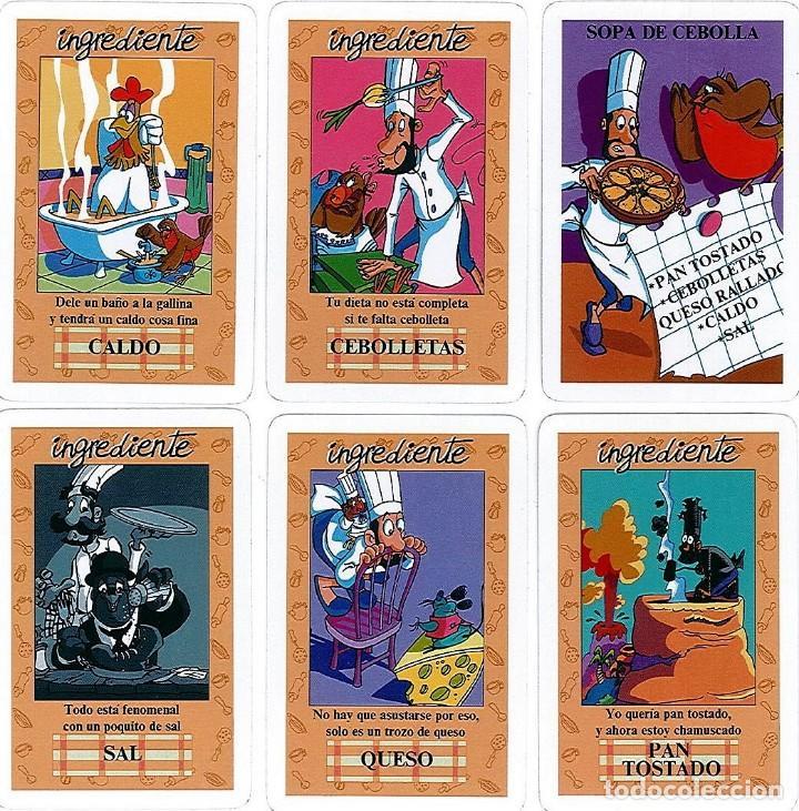 Barajas de cartas: BARAJA, EL JUEGO DEL RICO RICO, DE KARLOS ARGUIÑANO, MENU REFRESCANTE FOURNIER, NUEVA, PRECINTADA - Foto 6 - 172729485