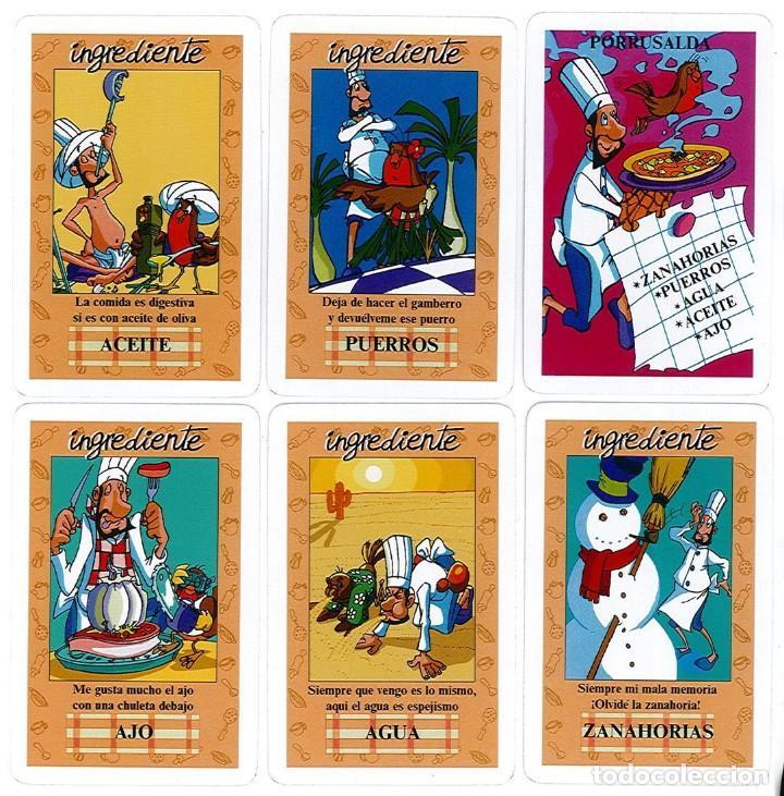 Barajas de cartas: BARAJA, EL JUEGO DEL RICO RICO, DE KARLOS ARGUIÑANO, MENU REFRESCANTE FOURNIER, NUEVA, PRECINTADA - Foto 10 - 172729485