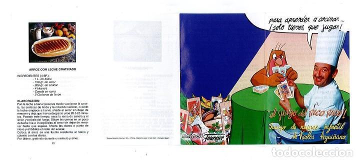 Barajas de cartas: BARAJA, EL JUEGO DEL RICO RICO, DE KARLOS ARGUIÑANO, MENU REFRESCANTE FOURNIER, NUEVA, PRECINTADA - Foto 16 - 172729485