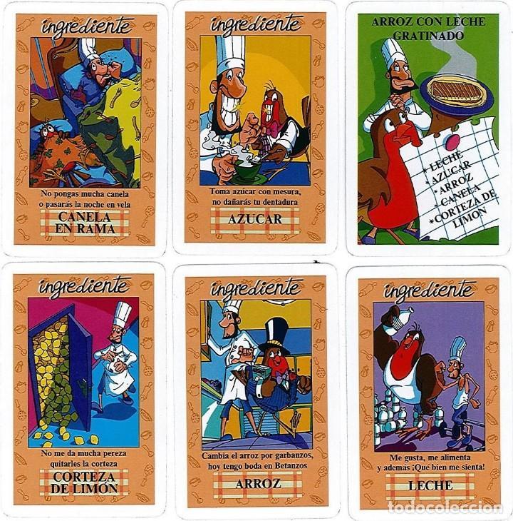 Barajas de cartas: BARAJA, EL JUEGO DEL RICO RICO, DE KARLOS ARGUIÑANO, MENU REFRESCANTE FOURNIER, NUEVA, PRECINTADA - Foto 9 - 172729485