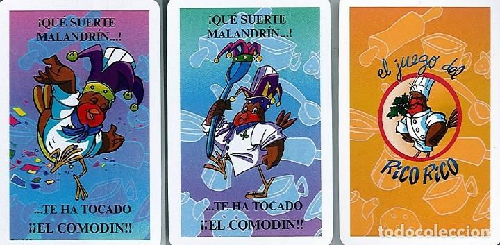 Barajas de cartas: BARAJA, EL JUEGO DEL RICO RICO, DE KARLOS ARGUIÑANO, MENU REFRESCANTE FOURNIER, NUEVA, PRECINTADA - Foto 2 - 172729485