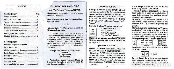 Barajas de cartas: EL JUEGO DEL RICO RICO-KARLOS ARGUIÑANO-ASEGARCE-MENÚ CON FUNDAMENTO- FOURNIER-NUEVO A DESPRECINTAR - Foto 7 - 130481122