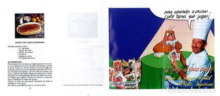 Barajas de cartas: EL JUEGO DEL RICO RICO-KARLOS ARGUIÑANO-ASEGARCE-MENÚ CON FUNDAMENTO- FOURNIER-NUEVO A DESPRECINTAR - Foto 9 - 130481122