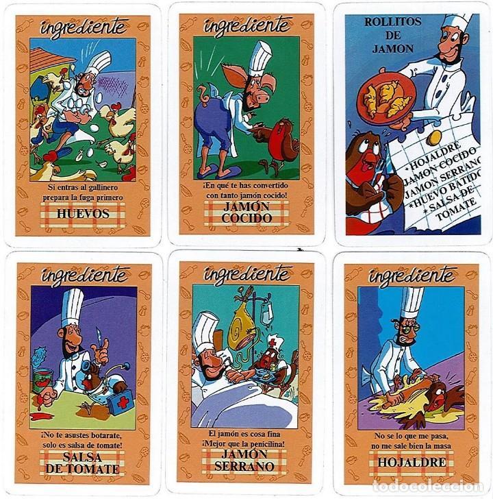 Barajas de cartas: EL JUEGO DEL RICO RICO-KARLOS ARGUIÑANO-ASEGARCE-MENÚ CON FUNDAMENTO- FOURNIER-NUEVO A DESPRECINTAR - Foto 11 - 130481122