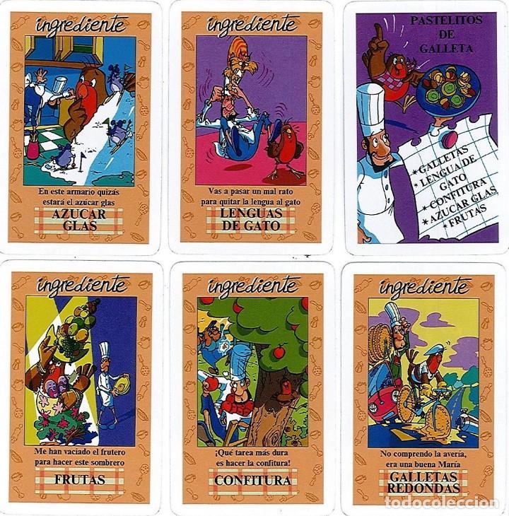 Barajas de cartas: EL JUEGO DEL RICO RICO-KARLOS ARGUIÑANO-ASEGARCE-MENÚ CON FUNDAMENTO- FOURNIER-NUEVO A DESPRECINTAR - Foto 12 - 130481122