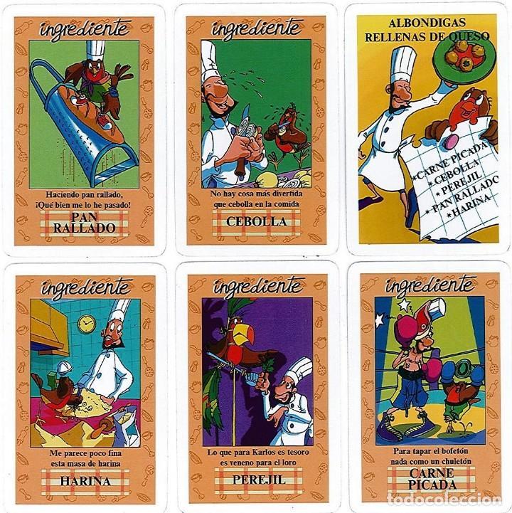 Barajas de cartas: EL JUEGO DEL RICO RICO-KARLOS ARGUIÑANO-ASEGARCE-MENÚ CON FUNDAMENTO- FOURNIER-NUEVO A DESPRECINTAR - Foto 13 - 130481122