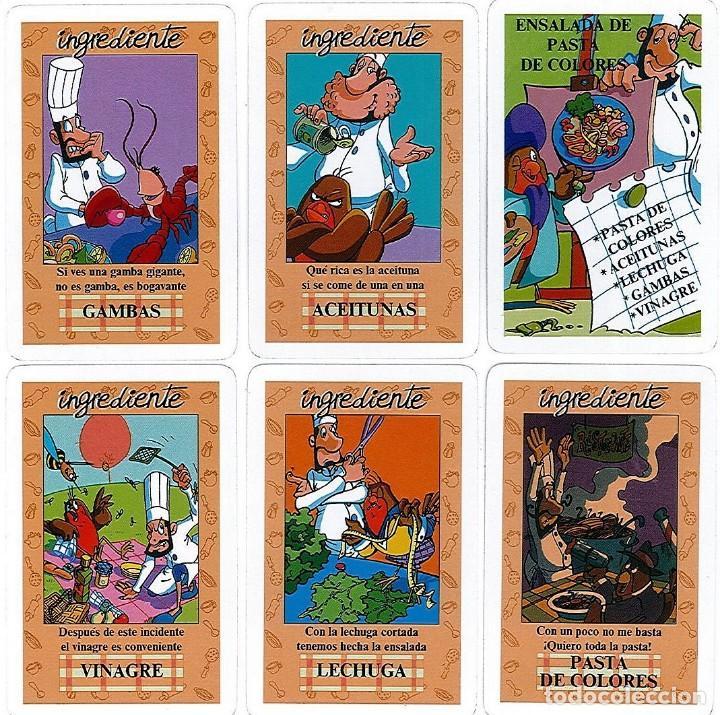 Barajas de cartas: EL JUEGO DEL RICO RICO-KARLOS ARGUIÑANO-ASEGARCE-MENÚ CON FUNDAMENTO- FOURNIER-NUEVO A DESPRECINTAR - Foto 15 - 130481122