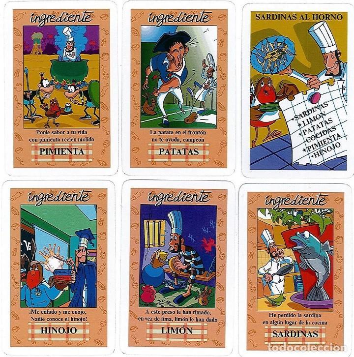 Barajas de cartas: EL JUEGO DEL RICO RICO-KARLOS ARGUIÑANO-ASEGARCE-MENÚ CON FUNDAMENTO- FOURNIER-NUEVO A DESPRECINTAR - Foto 16 - 130481122