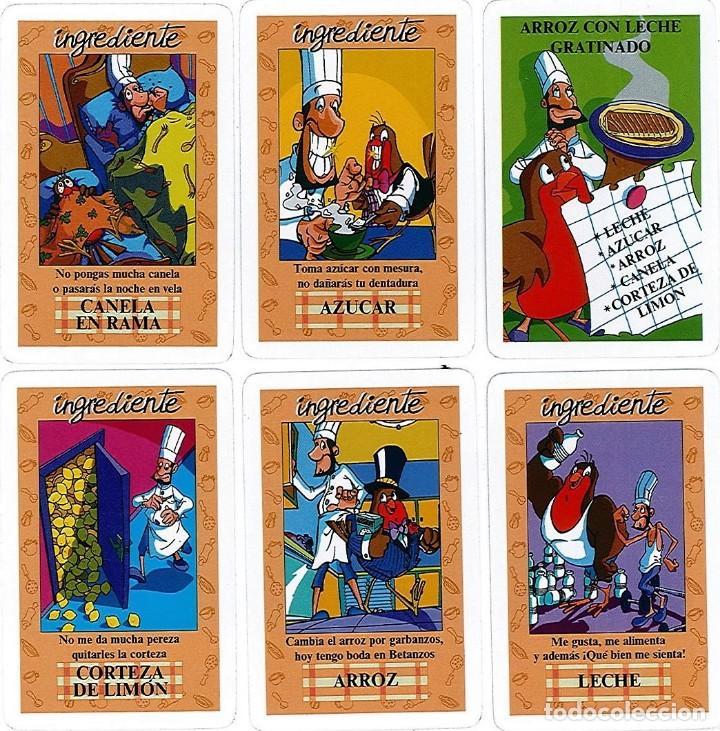 Barajas de cartas: EL JUEGO DEL RICO RICO-KARLOS ARGUIÑANO-ASEGARCE-MENÚ CON FUNDAMENTO- FOURNIER-NUEVO A DESPRECINTAR - Foto 17 - 130481122