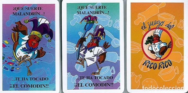 Barajas de cartas: EL JUEGO DEL RICO RICO-KARLOS ARGUIÑANO-ASEGARCE-MENÚ CON FUNDAMENTO- FOURNIER-NUEVO A DESPRECINTAR - Foto 18 - 130481122