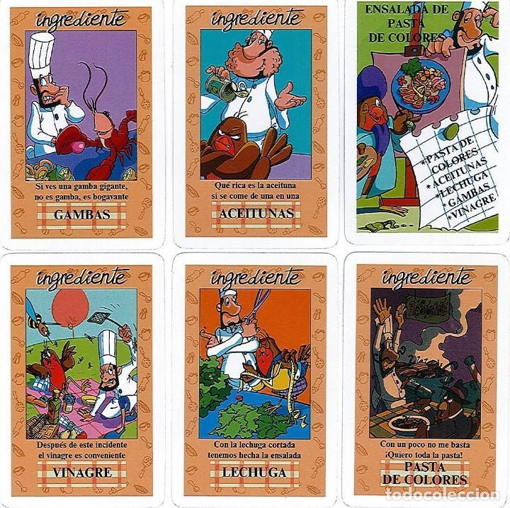 Barajas de cartas: EL JUEGO DEL RICO RICO-KARLOS ARGUIÑANO-ASEGARCE-MENÚ CON FUNDAMENTO- FOURNIER-NUEVO A DESPRECINTAR - Foto 29 - 130481122