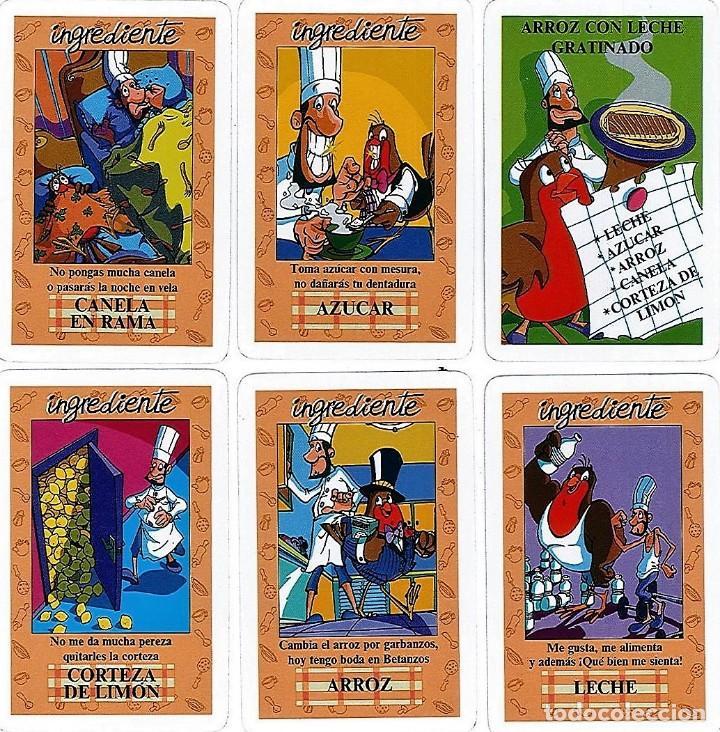 Barajas de cartas: EL JUEGO DEL RICO RICO-KARLOS ARGUIÑANO-ASEGARCE-MENÚ CON FUNDAMENTO- FOURNIER-NUEVO A DESPRECINTAR - Foto 31 - 130481122
