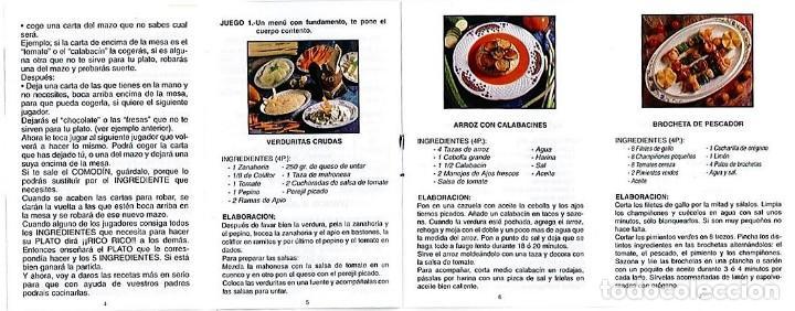 Barajas de cartas: EL JUEGO DEL RICO RICO-KARLOS ARGUIÑANO-ASEGARCE-MENÚ CON FUNDAMENTO- FOURNIER-NUEVO A DESPRECINTAR - Foto 36 - 130481122