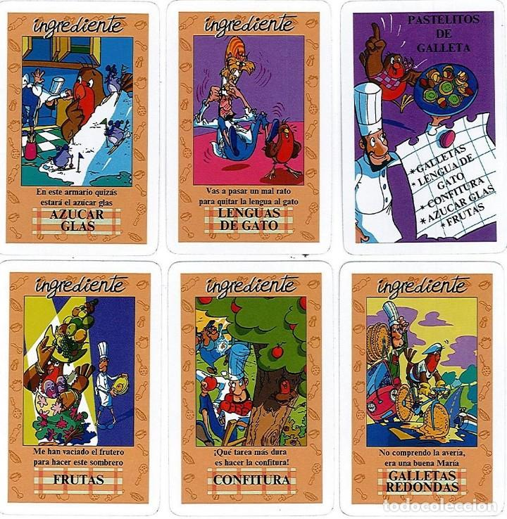 Barajas de cartas: EL JUEGO DEL RICO RICO-KARLOS ARGUIÑANO-ASEGARCE-MENÚ CON FUNDAMENTO- FOURNIER-NUEVO A DESPRECINTAR - Foto 41 - 130481122
