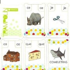 Mazzi di carte: JUEGA CON LAS LETRAS 2 - APRENDE ORTOGRAFÍA JUGANDO -. Lote 122575407