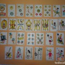 Barajas de cartas: BARAJA INFANTIL ILUSTRACIONES INFANTILES PUBLICIDAD H. DE RAFAEL REIG FCA. CHOCOLATES JATIVA 1940-50. Lote 122605603