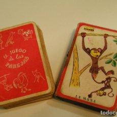 Barajas de cartas: ANTIGUA BARAJA CARTAS INFANTIL COMPLETA EL JUEGO DE LAS PAREJAS EDICIONES RECREATIVAS. Lote 123045851