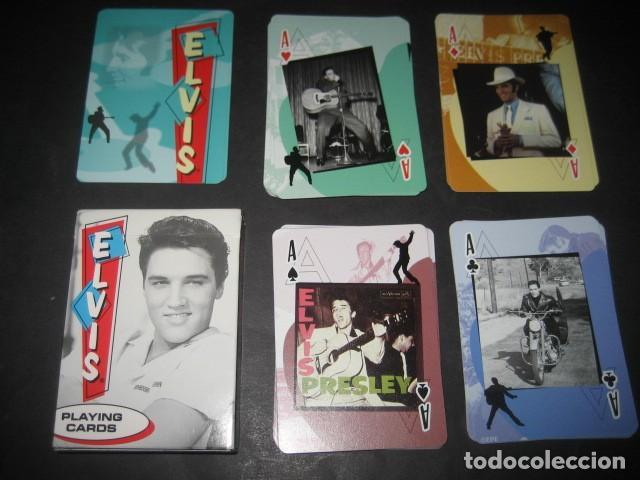 BARAJA POKER ELVIS PRESLEY (Juguetes y Juegos - Cartas y Naipes - Barajas de Póker)