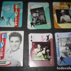 Barajas de cartas: BARAJA POKER ELVIS PRESLEY. Lote 123285043