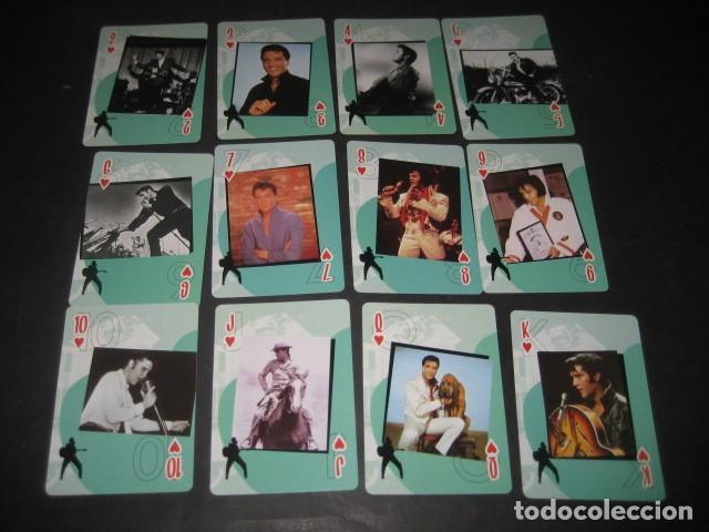 Barajas de cartas: BARAJA POKER ELVIS PRESLEY - Foto 3 - 123285043