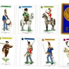 Barajas de cartas: BARAJA LA BATALLA DE VITORIA. VITORIA'KO GUDALDIA. DIPUTACION FORAL DE ALAVA. HERACLIO FOURNIER 1988. Lote 123318852