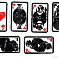 Barajas de cartas: BARAJA DE CARTAS TECTA. ENTWURF: RIXDORFER DRUCKE. RAREZA. 32 CARTAS. COMPLETA. Lote 123328484