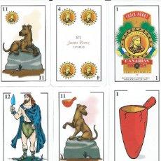 Barajas de cartas: BARAJA ESPAÑOLA CANARIA DE JUSTO PEREZ Nº 1-AÑO 1994. Lote 123508247