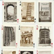 Jeux de cartes: BARAJA MONUMENTI DE ITALIA-FOURNIER-AÑO 1962. Lote 123517255