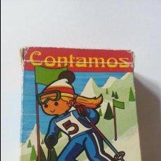 Barajas de cartas: BARAJA CONTAMOS CONTIGO. HERACLIO FOURNIER. 43 CARTAS. AÑO 1974. . Lote 123583079