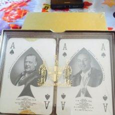 Barajas de cartas: LOTE DE BARAJAS DE PÓKER INGLESAS. Lote 123604676